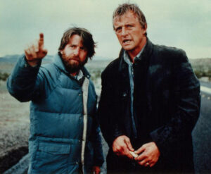 Film: The Hitcher, Robert Harmon with Rutger Hauer