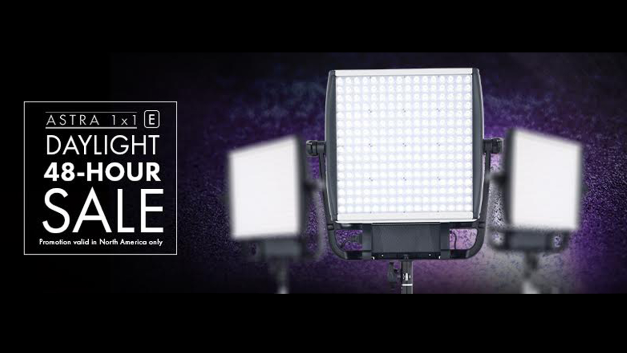 Litepanels offer 30% off Astra E Daylight Panels