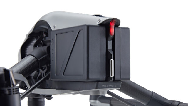 DJI Inspire 2 dual battery system