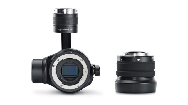 DJI Inspire 2 Zenmuse X5S mft camera