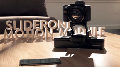 Edelkrone Motion Module Adds iOS Control to the SliderONE