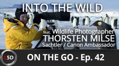 Into the Wild - On the Go Ep. 42 - feat. Sachtler & Canon Ambassador Thorsten Milse