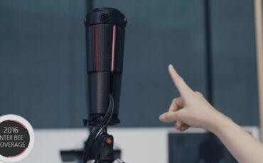 Panasonic Unveiles Prototype 360 Camera Rig - Quad Camera 4K Live Streaming VR