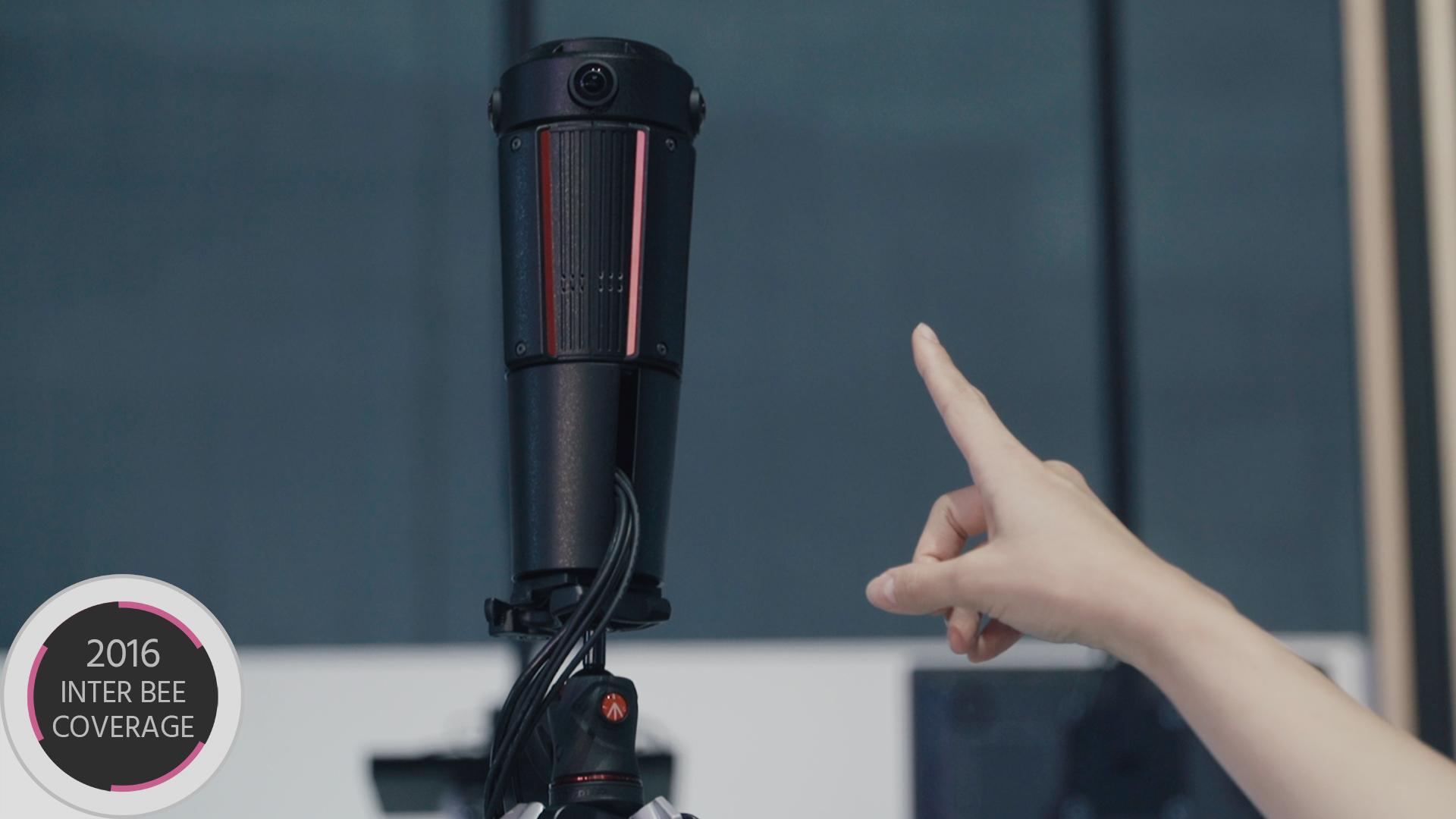 パナソニックの360°カメラ - 遅延の無いVR用4Kライブカメラ