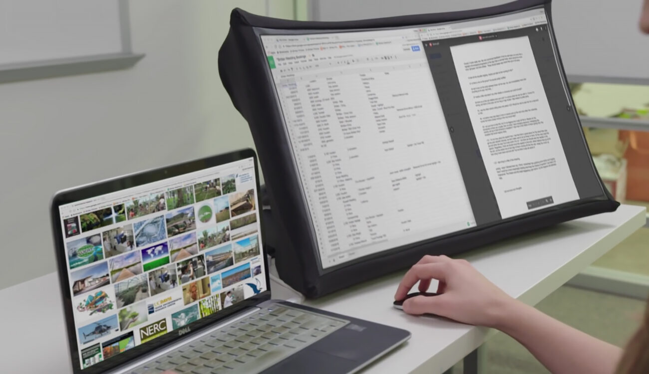 SPUD: The Portable Folding Display Taking Kickstarter By Storm