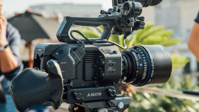 Sony FS7 II hands-on