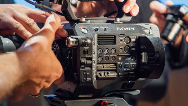 Sony FS7 II hands-on review