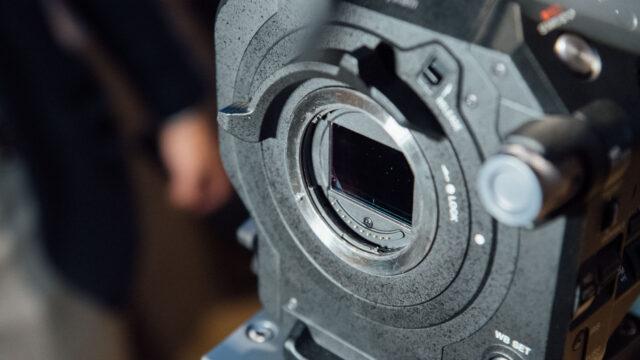 Sony FS7 II E-Mount Lever Lock