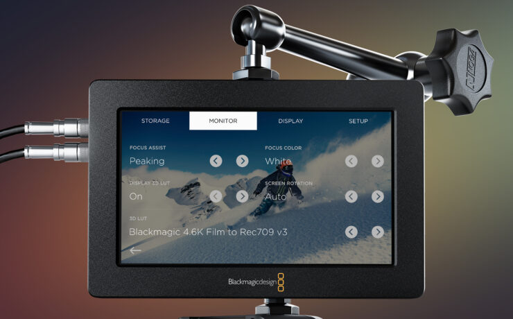 Blackmagic Video Assist - Firmware Update Adds LUT Support