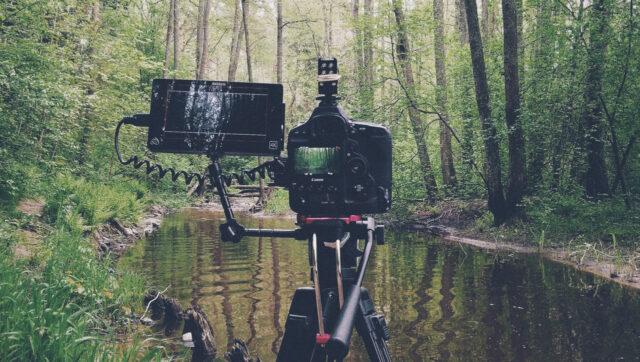 Canon 1D X mark II & Atomos Shogun Rig