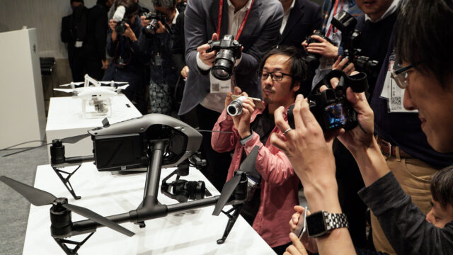 DJI Inspire 2 at Inter BEE 2016