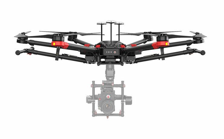 DJI M600 Pro Drone Introduced