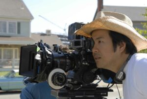 Picture: Justin Lin on location.