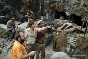 Peter Jackson on the set of King Kong (2005). Credit: Universal Studios