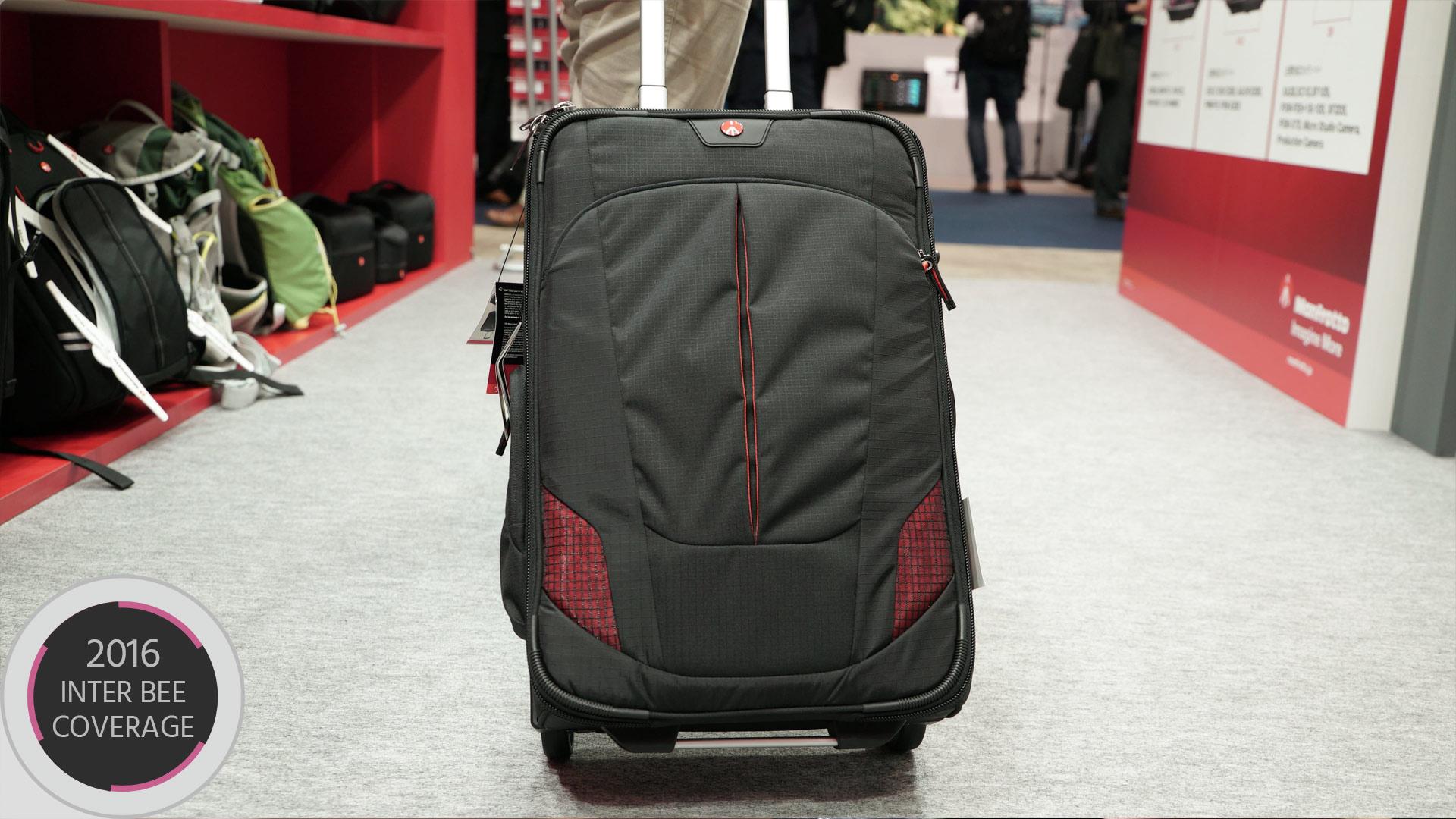 マンフロット ローラーバッグ55 — 大容量ながら機内持ち込みできるキャリーバッグ