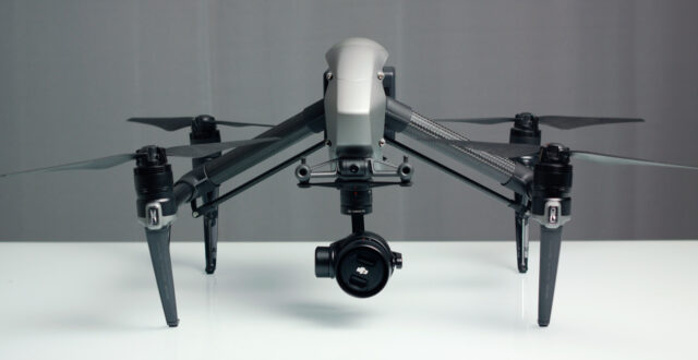 DJI Inspire 2 Review - Front