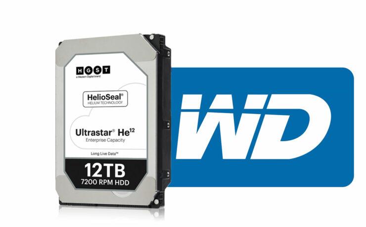 Western Digital 12TB and 14TB Ultrastar He12 Drives Announced
