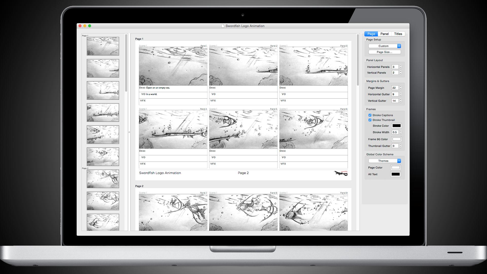 Broadfish - ストーリーボード製作用アプリ