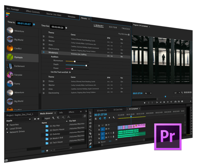Tutorial: Filmstro Premiere Pro Panel - Music Month