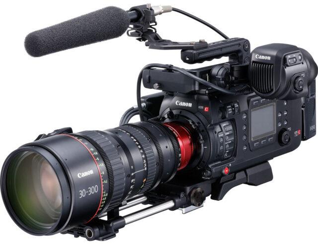 Canon C700 Sensor Swap Service Plus Lens Mount Change