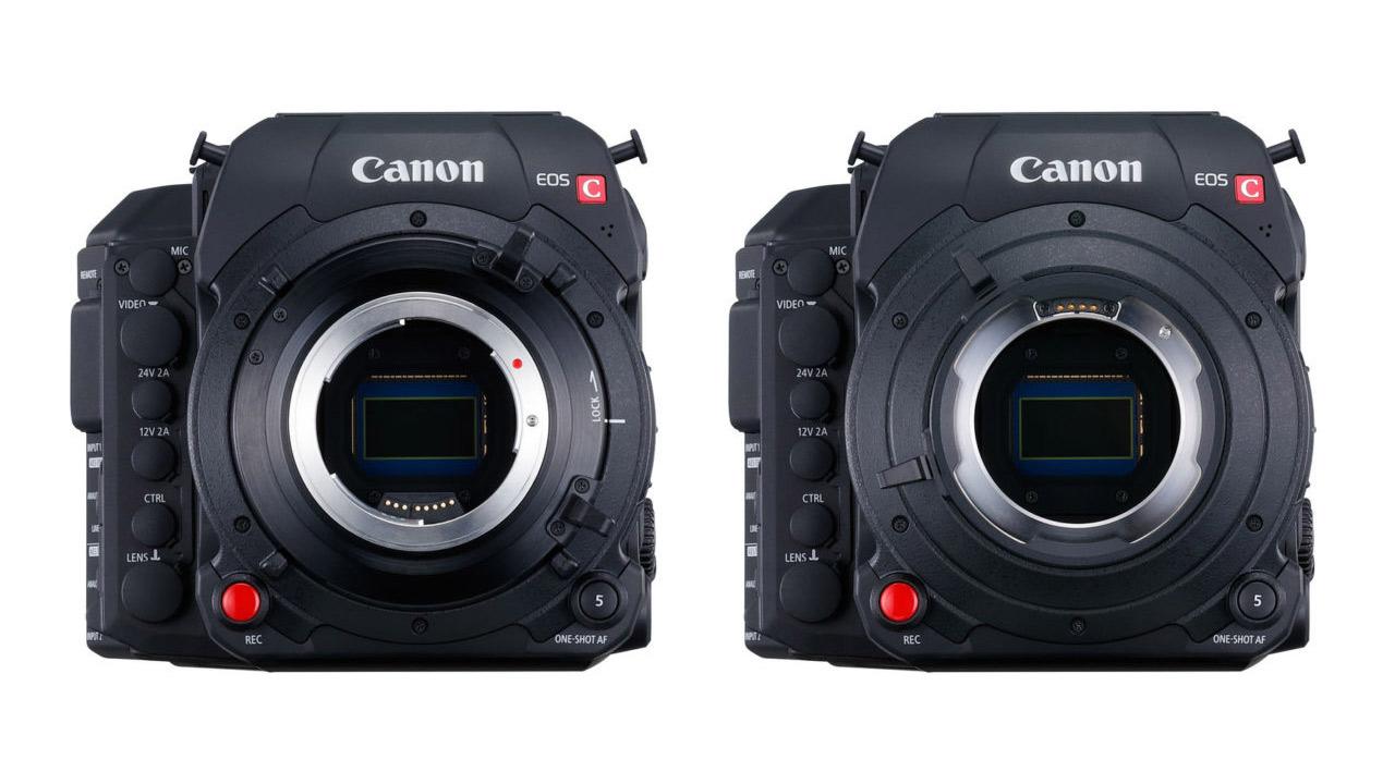 Canon C700 Sensor Swap Service Plus Lens Mount Change Pricing