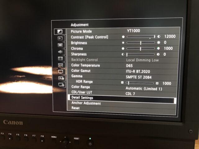 Canon DP-V2420
