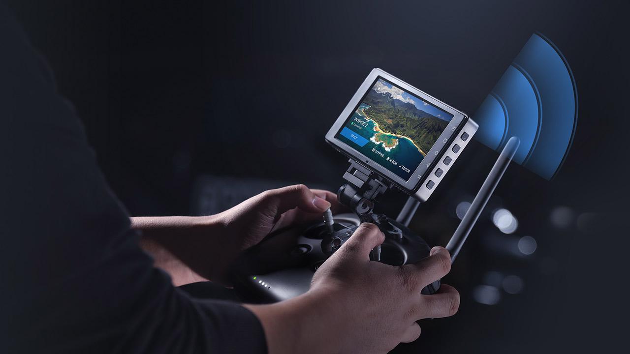 DJI CrystalSky High Bright Monitors & New Pro Flight