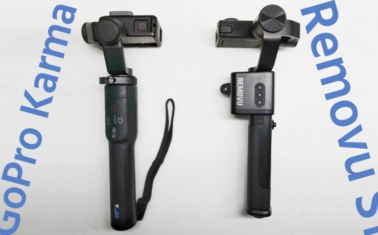 GoPro Gimbal Shoot-Out: Removu S1 vs. GoPro Karma Grip