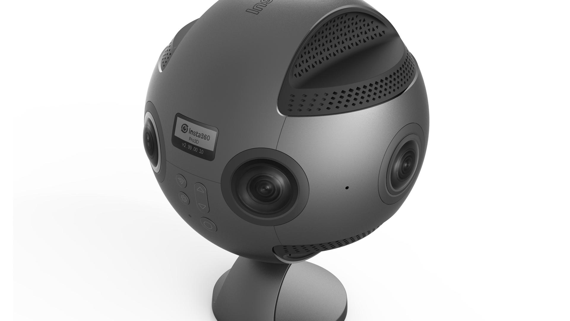 Insta360 ProファームウェアV2.0 - 画質改善やマニュアルフレームレート設定を追加