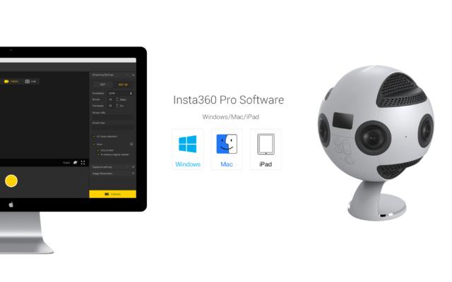 insta360pro software