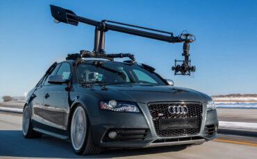 MotoCrane - World's First Universal Automotive Camera Crane System