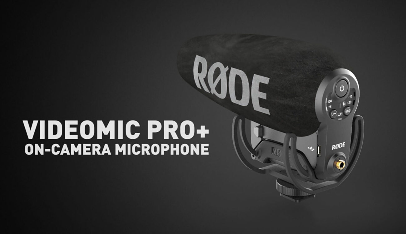 RØDE Announces New Videomic Pro+ and Videomic Soundfield Microphones