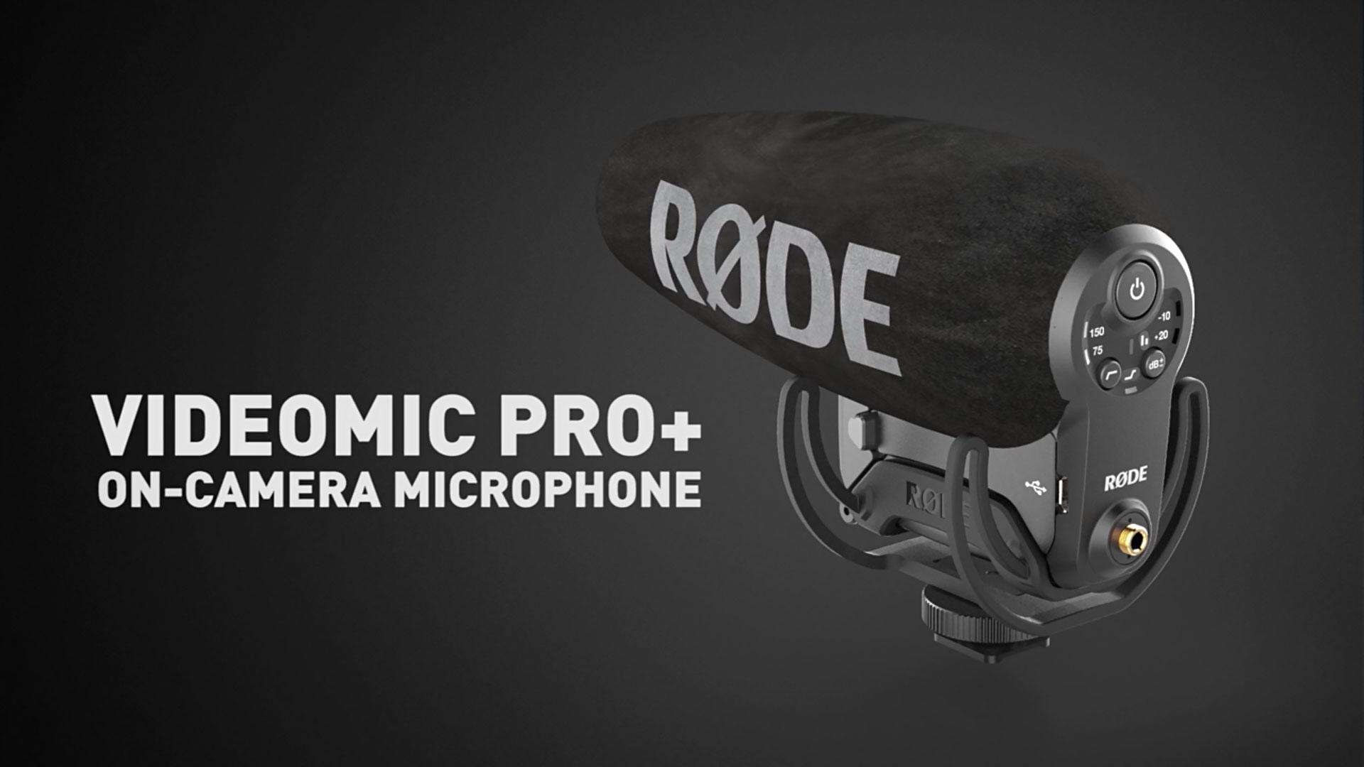RØDEがVideomic Pro+ とVideomic Soundfieldマイクロフォンを発表