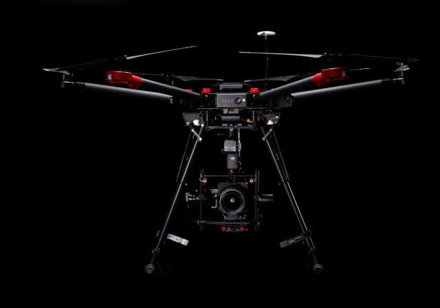 DJI m600 with Hasselblad A5D-50c Aerial camera, Credit: Hasselblad