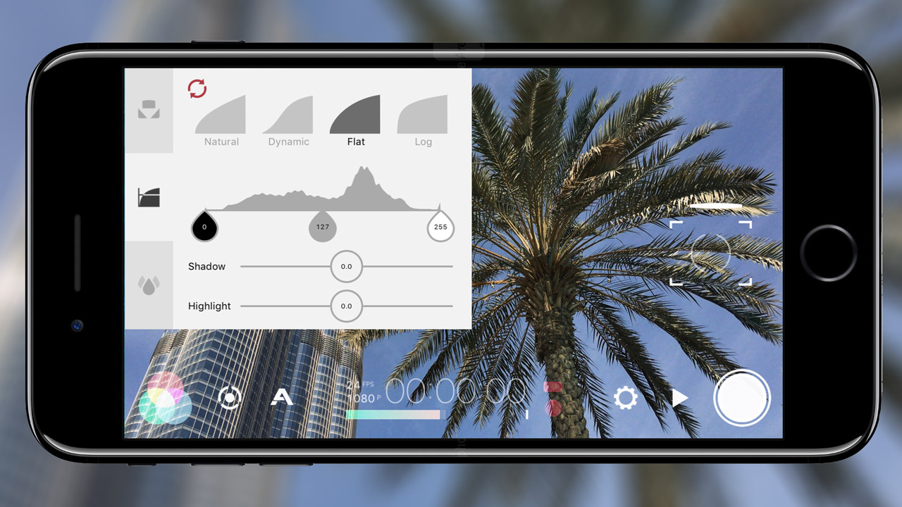 Hands On - Shooting with FiLMiC Pro log gamma on iPhone