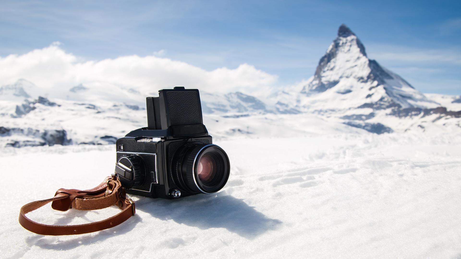 極寒下での撮影を考える ➖ 氷河撮影での試み