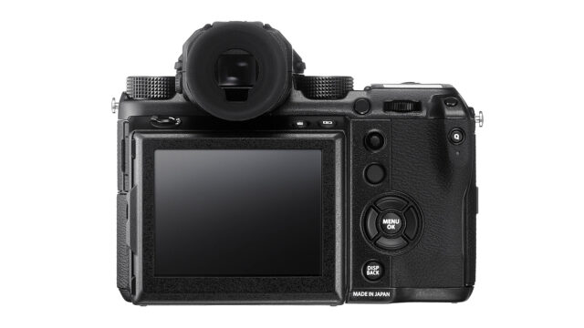 Fujifilm GFX 50S Video and Photo Camera Body Only Back
