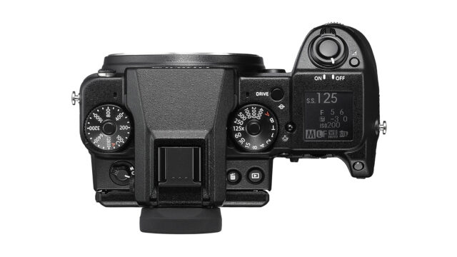 Fujifilm GFX 50S Camera Body only Top