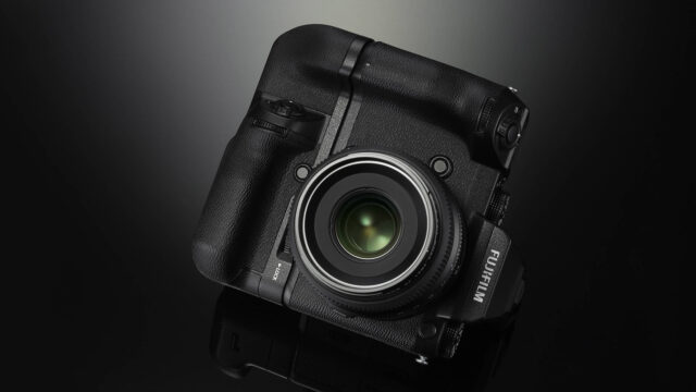 Fujifilm GFX 50S Video and Photo Camera Medium Format Black