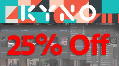 DEAL ALERT - 25% Off Kyno Software