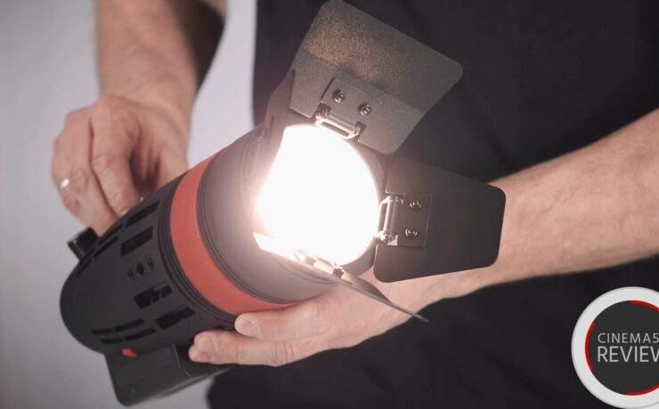CAME-TV Boltzen LED Fresnel Light Review - Hands On Video with 30W & 55W Versions