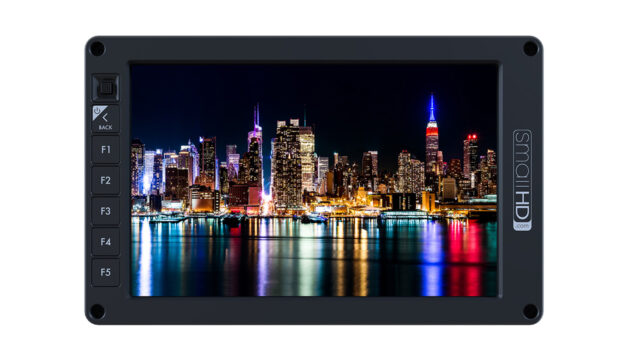 smallHD 702 OLED monitor front