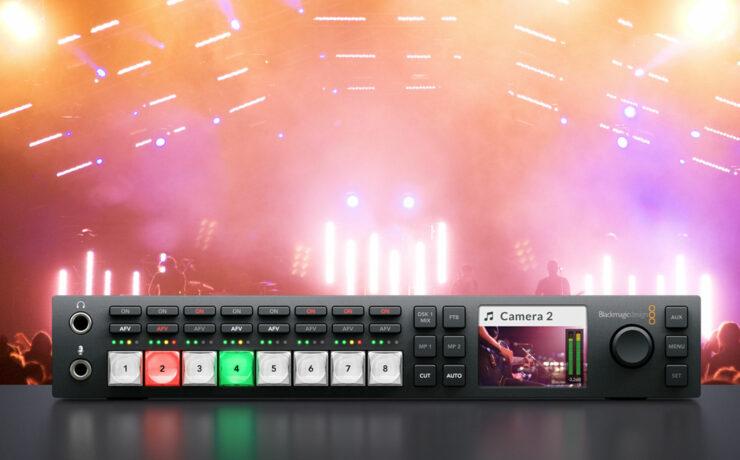 Blackmagic Studio Camera Price Drop, New ATEM Television Studio HD Switcher and More