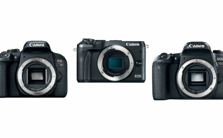 Canon Announce New Mid Range Canon EOS 77D, Rebel T7i DSLR and M6 Mirrorless