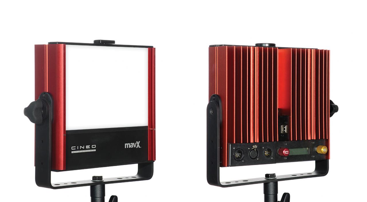 Cineo MavX - Mid-Power Phosphor Lamp Gets Color Tunability