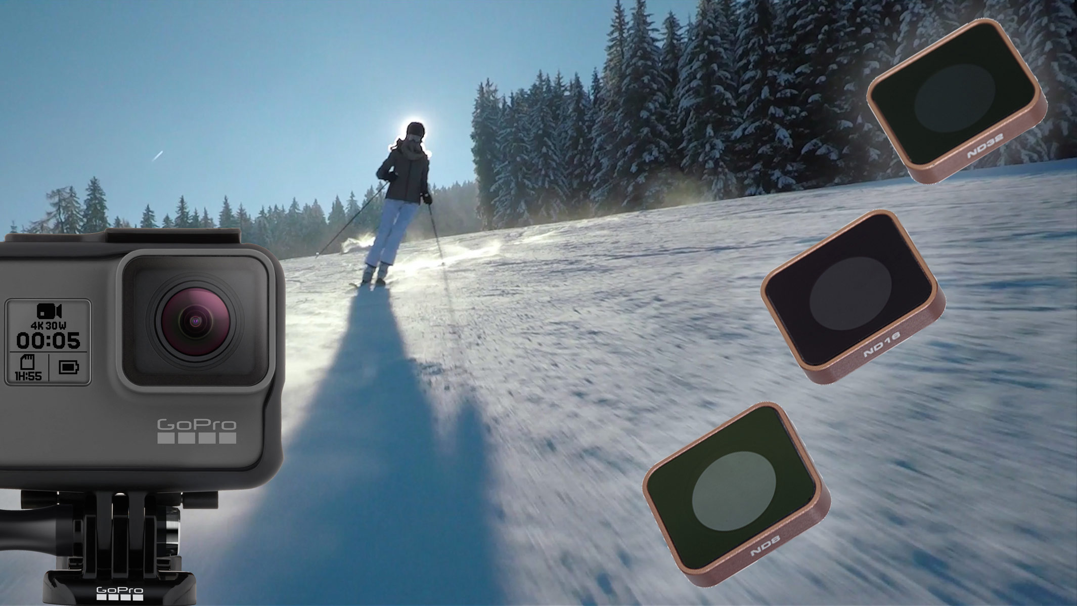 Cinematic Motion with GoPro ND Filters - PolarPro Cinema Series