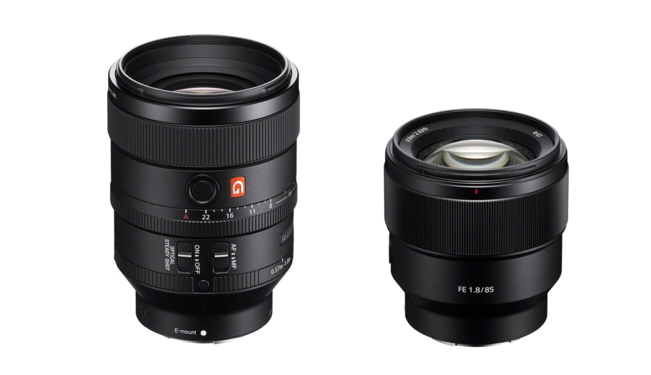 New Sony FE Prime Lenses - 100mm f/2.8 GM and 85mm f/1.8