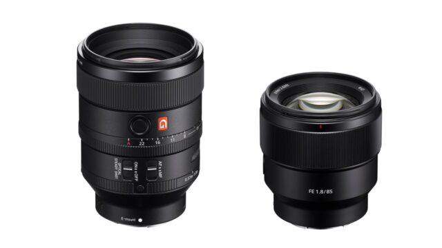 Sony FE prime lenses