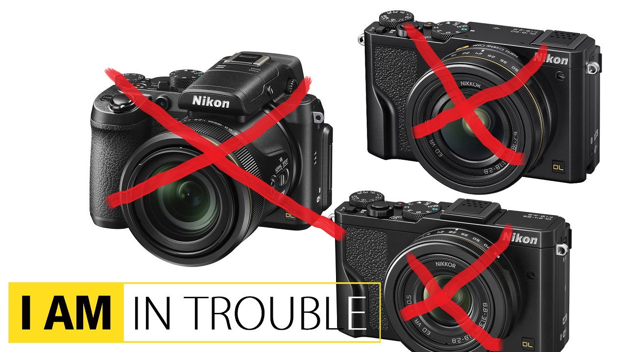 ニコンがDLシリーズコンパクトカメラの発売を中止