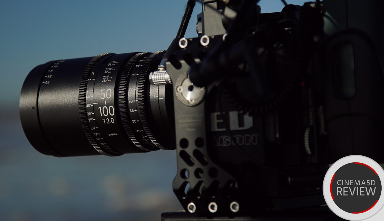 SIGMA Cinema Zoom Lens Review: 18-35mm T2.0 and 50-100mm T2.0